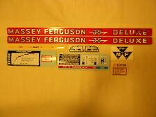 Massey Ferguson 35 Deluxe Decal Set