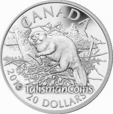 Canada 2013 Beaver $20 1 Oz Pure Silver Proof - IN HAND for immediate shipment!