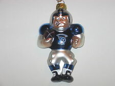 """Tennessee Titans 3.5"""" NFL Football Player Hanging Christmas Ornament"""