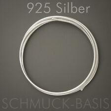 50 cm Silberdraht (echt); 925 Silber; Ösendraht 1,5 mm !!!