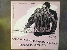 OSCAR PETERSON PLAYS HAROLD ARLEN ORIGINAL CLEF MONO DAVID STONE MARTIN