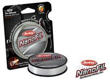 Berkley Nanofil - Great Ice Fishing Line - 4 lb Test - 150 Yd Spool White - NEW