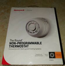 Honeywell CT87N The Round Heat/Cool Non-Programmable Thermostat NEW Sealed!!!