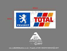 Peugeot Pegatina Calcomanía ventana total
