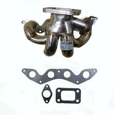 Turbo Stainless Header Manifold For 2001-2004 Honda Civic D17A1 DX LX by OBX-R