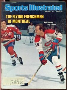 SI: Sports Illustrated February 7, 1977 High Scoring Guy Lafleur Canadiens G