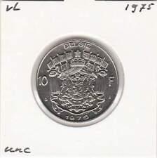 Belgium / België dutch 10 francs 1975 UNC - KM156.1