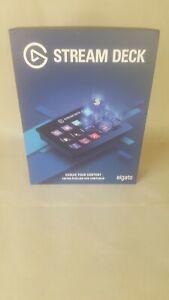 Elgato Stream Deck Live Content Creation Controller - Black, 15 Keys Brand New