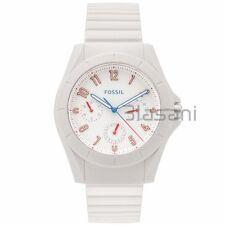 Fossil Original FS5223 Men's Poptastic Sport White Silicone Watch 44mm