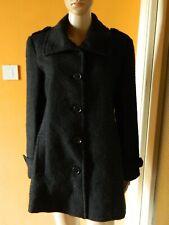 """Manteau  chaud d'hiver femme T 40 """"Damart """" en laine"""