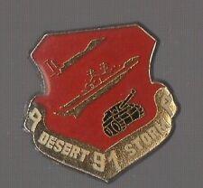 Pin's armée / opération militaire américaine desert storm / Guerre du Golfe