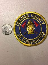 Orange County California Fire Department Junior Firefighter Paramedic Patch Ca