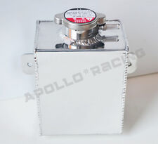 Aluminum Coolant Expansion Tank Radiator Overflow Recovery Tank 1.2l