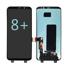 For Samsung Galaxy S8+ PLUS LCD Display Touch Screen Digitizer Assembly Black