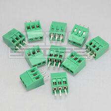 10 pz morsetti 3 poli passo 2,54mm Morsettiera PCB circuito stampato - ART. AZ08