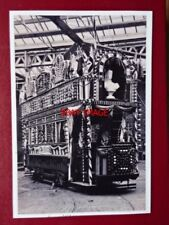 PHOTO  SHEFFIELD TRAM - (4) TRAM DECORATED ROYAL VISIT OF KING EDWARD VII & QUEE