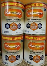 4 Big cans of Enfamil Nutramigen 27.8 oz each.