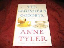The Beginner's Goodbye by Anne Tyler (2012, Hardcover) 1st ed signed
