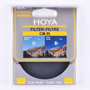 HOYA 58MM CIRCULAR POLARISING FILTER PLC C-PL CIRC POL CPL GENUINE UK STOCK
