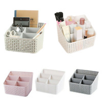 Multi-function Cosmetic Organizer Desktop Make-up Solid Organizer Storage Box UK