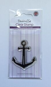 Anchor Clear Stamp - Dovecraft