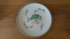 1950's Poole Pottery Fish Plate Hand Made & Decorated ##A