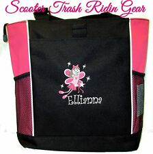 Personalized Fairy Princess Diaper Bag Baby Tote New monogrammed Pink Black