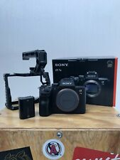 Sony a7 III 24.2 MP Mirrorless Digital Camera With UURig Cage