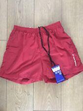 Aqua Sphere Coach Red Swim Shorts Mens Swimwear Medium BNWT