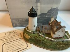 Harbour Lights Lighthouse Pemaquid Point Light Maine #164 1996