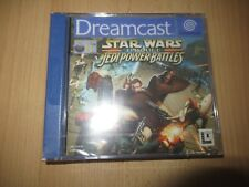 Star Wars Episode 1 Jedi Power Battles  Sega Dreamcast, pal version new sealed