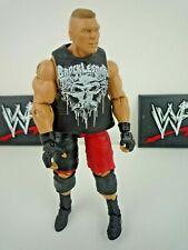 WWE / WWF WRESTLING FIGURE BROCK LESNAR MATTEL ELITE SERIES 19