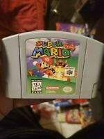 super mario n64 authentic clean and tested ship out fast nintendo 64