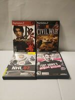 Lot of 4 PS2 Playstation Games - All Complete - All Tested and Working