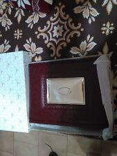 Album fotografico Larms in pelle ed argento