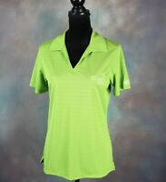 NWT! Champion Trace Under Armour Women's Golf Polo Size M Green Heat Gear Loose