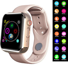 Women Ladies Smart Watch Bluetooth Call Music Compatible with Android Ios Phone