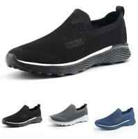 Mens Mesh Breathable Soft Sports Outdoor Running Casual Fashion Sneakers Shoes B