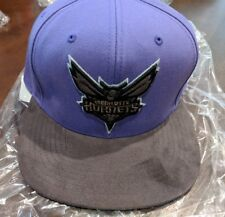 New * Charlotte Hornets * fitted Mitchell & Ness * Swede Cap Hat era size 7, $35