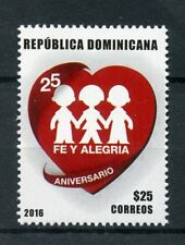 Dominican Republic 2017 MNH Fe Y Alegria 25th Anniv 1v Set Education Stamps