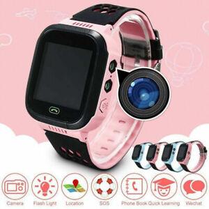 Enfant Smartwatch Anti-perdue GPS tracker Montre avec Camera pour Filles Garçons