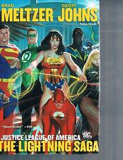 Justice League of America: Lightning Saga by Geoff Johns & Ed Benes 2008 HC DC
