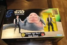 Star Wars Power of the Force Collectors Trilogy Edition Jabba The Hut & Hans Set