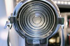 VINTAGE RANK STRAND 123 BRITISH THEATRE BBC STAGE LIGHT LAMP STAINED TEAK TRIPOD