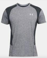 Under Armour * UA Swyft Runner Short Sleeve T-Shirt Heather Gray for Men