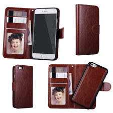 Wallet Flip Case for Apple iPhone-Magnetic closure, PU Leather, Card -All Models