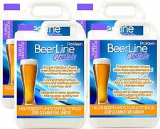 Pro-Kleen Purple Beer Line Cleaner Professional Heavy Duty Pub Bar Club 4 x 5L