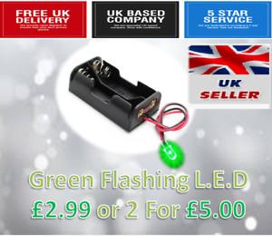 Dummy Alarm Bell Box Flashing LED Light Dummy Car Alarm LED £2.99 or 2 For £5.00