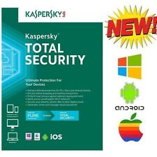 Kaspersky PURE Total Internet Security 2018 3PC 1 Year Windows Mac Android
