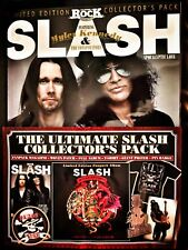 SLASH ULTIMATE FANPACK+T-SHIRT, Size LARGE With Magazine, CD,Patch,Badge+Poster